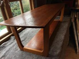Mid Century wooden coffee table