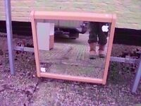 Mirror wood frame Good condition