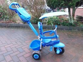 Boys Smart trike. In used but good condition - Suitable from 10 months to 36 months