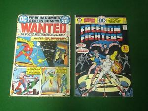 Wanted #1 & Freedom Fighters #1 - comics