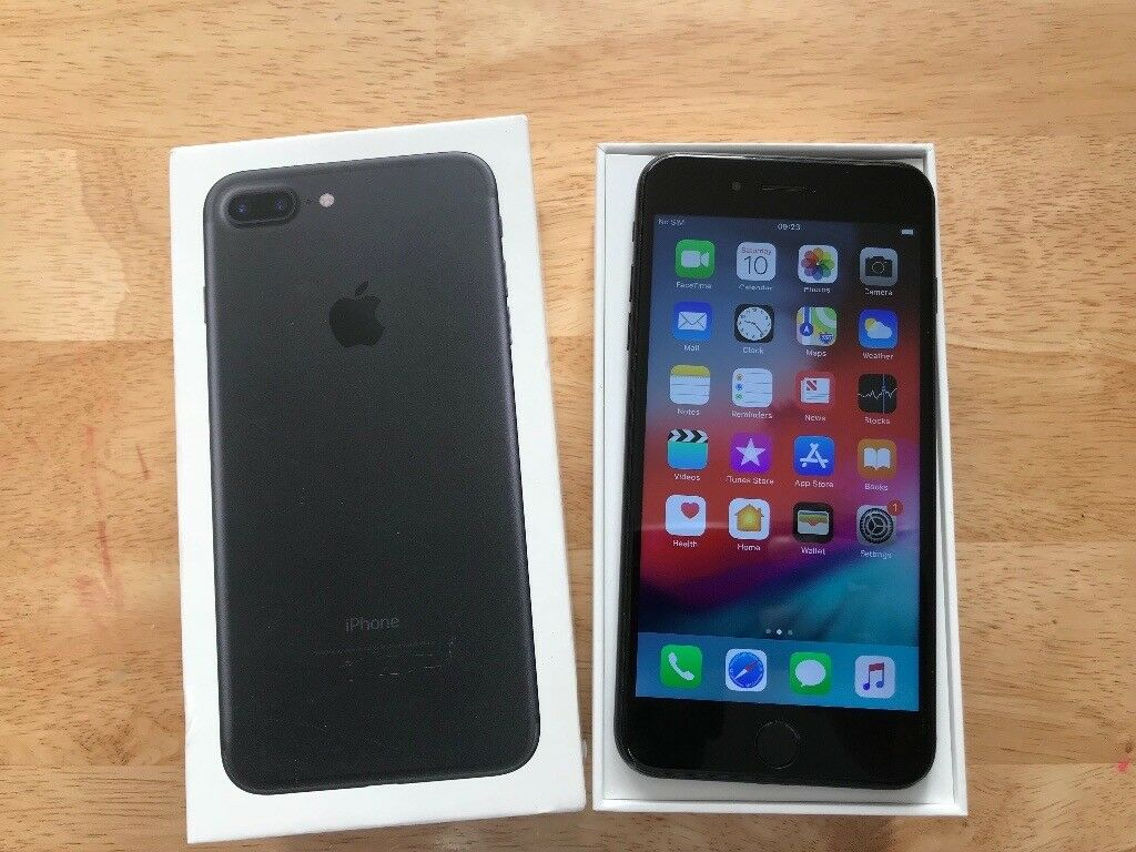 Iphone 7 Plus Jet Black 128gb Unlocked In Lewisham London Gumtree