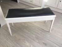DOUBLE PIANO STOOL / BENCH WITH STORAGE