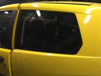 Fiat Punto 2003 rear Quarter glass