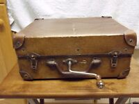 Vintage portable Gramophone 1920s