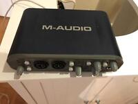 M audio Fastrack pro