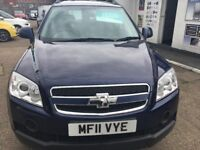 CHEVROLET CAPTIVA LS VCDI LS ESTATE 1991CC IN BLUE LONG MOT 6 MONTHS TAX 3 MONTHS WARRANTY