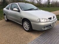 Renault megane 1 YEAR MOT EXPRESSON A/C coupe