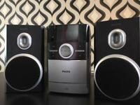Philips MC147 micro stereo system, like new