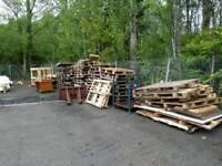 Broken pallets,fire wood