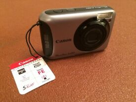 NEW Compact Digital Camera - Canon Powershot A490