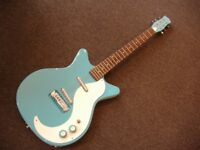 NEW DANELECTRO DC59M-CBL BLU ELECTRIC GUITAR NEW MOD TONE MONSTER £339
