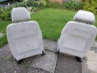 Golf MK4 Front Seats, Fit Lupo & Arosa