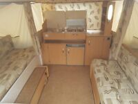 Pennine Fiesta 2009 Folding Camper in excellent condition