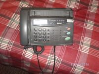 telephone & fax machine