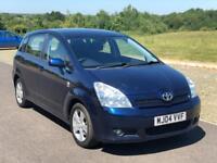 7 Seater Toyota Corolla Verso 2.0 D-4D T3, F Service History, Year MOT, 3 M Warranty,