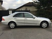 MERCEDES BENZ C220 CDI SE AUTOMATIC 2003 12 MONTHS M.O.T DRIVES WELL SERVICE HISTORY