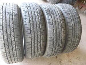 Four 215-60-17  tires $160.00