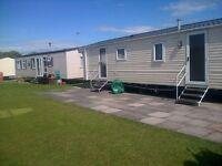 Caravan for hire 4 bed 10 berth on haven cala gran fleetwood
