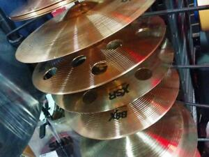 CYMBALS FOR SALE AT RED ONE MUSIC - BRAND NEW - AMAZING PRICES - SABIAN, ZYLDJIAN, STAGG AND MORE!!!!