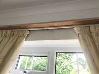 Curtains, Pelmet, Pelmet Board and Track