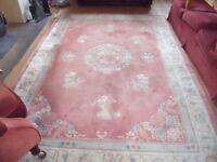 100% wool carpet/rug