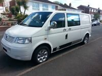 VW TRANSPORTER T5 LWB campervan