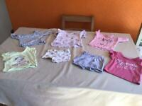 Baby girl t-shirt & shirt bundle 0:3