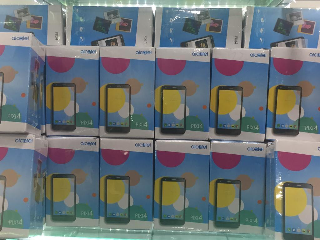 Cheap phone ALCATEL Pixi 4(4G 5.0display front camera flash 8mp camera)BRAND NEW BOX UNLOCKEDin Luton, BedfordshireGumtree - ALL PHONE COMES WITH WARRANTY AND RECEIPTAny colour comes with box and all accessories Unlocked WE DO ALL KIND OF BASIC AND SMART PHONES WHOLE SALESBUY IT WITH CONFIDENCE To find out more info plz call or text me