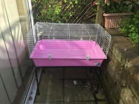Guinea Pig cage with stand