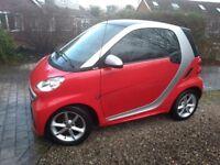 SMART CAR 2013 VERY LOW MILEAGE