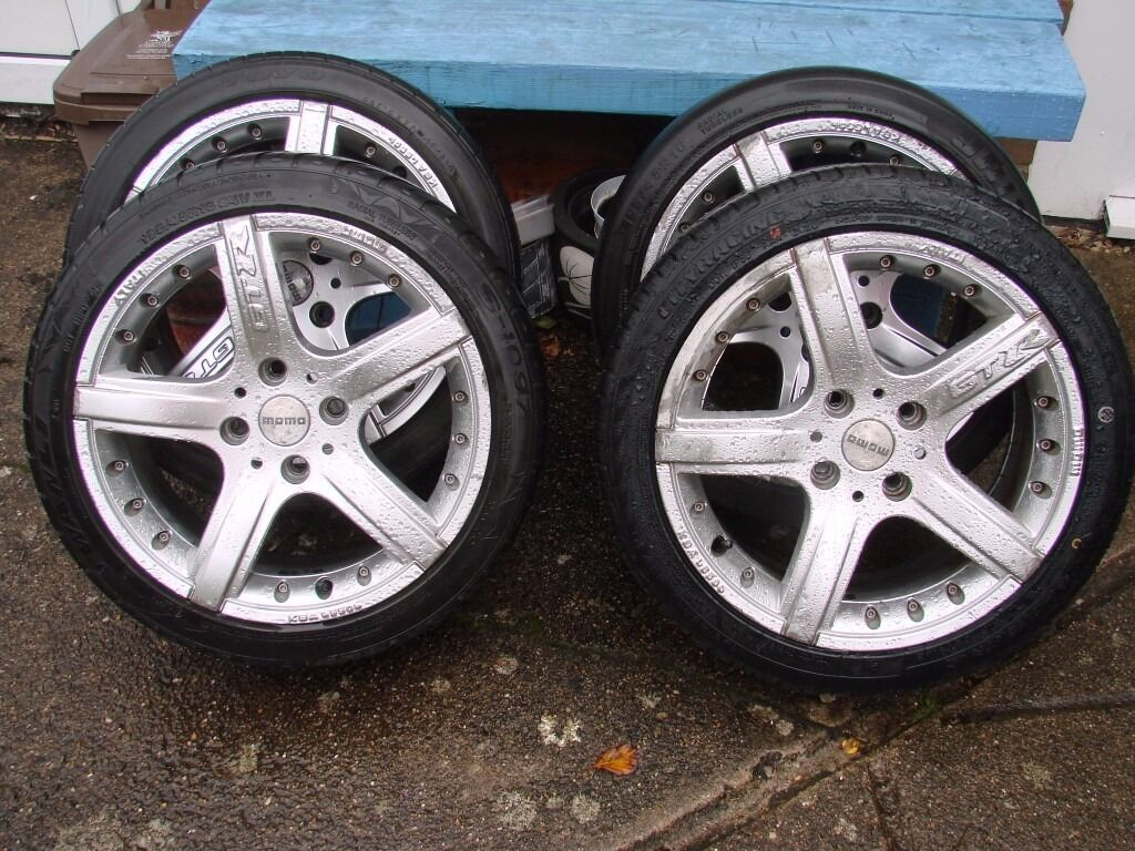 Inch Momo Gtr Wheels And Tyres Ford Fitment  Pcd Focus Fiesta
