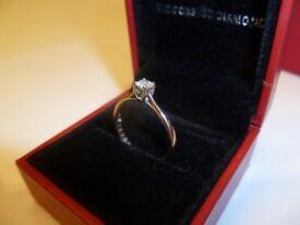 The Forever Diamond Palladium Ring