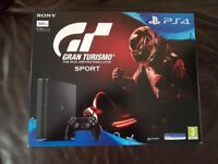 Brand new playstation 4 with gran turismo sport