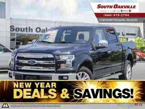 2015 Ford F-150 Lariat | DUAL SUNROOF | HEATED LEATHER | NAVIGAT