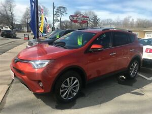 2016 Toyota RAV4 Limited  Navagation only 21,000km