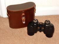 "Binoculars 9 x 35 - Ross ""Solaross"" with case"