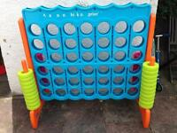 Large Connect 4 Garden Game