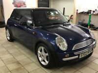 !!12 MONTHS MOT!! 2002 MINI COOPER 1.6 / SERVICED / HALF LEATHER / DRIVES GREAT / MUST SEE