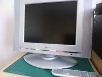 """L G 15"""" analogue tv"""