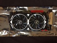 MSI GTX 1080 ARMOR OC 8GB Graphics Card (Can Post to anywhere in Mainland UK)