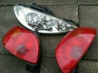 2005 Peugeot 206 *Parts* for SALE Good condition headlamp, interior panels