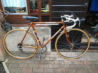 Vintage Raleigh Scorpio road bicycle