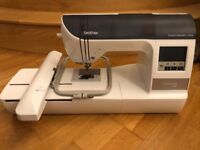 Brother Innov-is 750E Embroidery Machine + Accessories/Threads