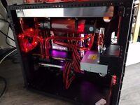 Caselabs M8 Custom watercooled Gaming PC i7 6950x Asus Rampage V Edition 10 4K VR Gaming Titan X P