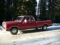 1982 Dodge Ram Club Cab ( REDUCED )