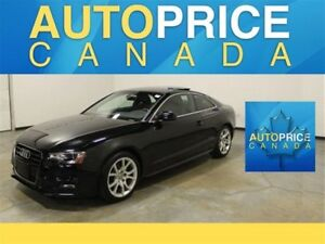 2015 Audi A5 S-LINE|PANOROOF AND MORE