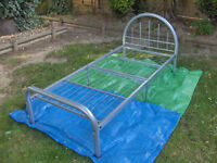 Single Bed Metal Base with FREE mattress # FREE LOCAL DELIVERY #