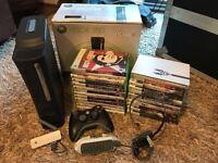 XBOX 360 Elite 120GB , 24 Games & Accessories