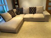 **Sold** 2 large L shaped sofas