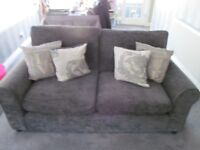 Sofa GREAT condition,slate grey colour,nice material